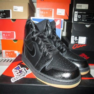 "Image of Air Jordan I (1) Retro High ""Blk/Gum"""