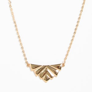 Image of Art Deco Pendant Necklace