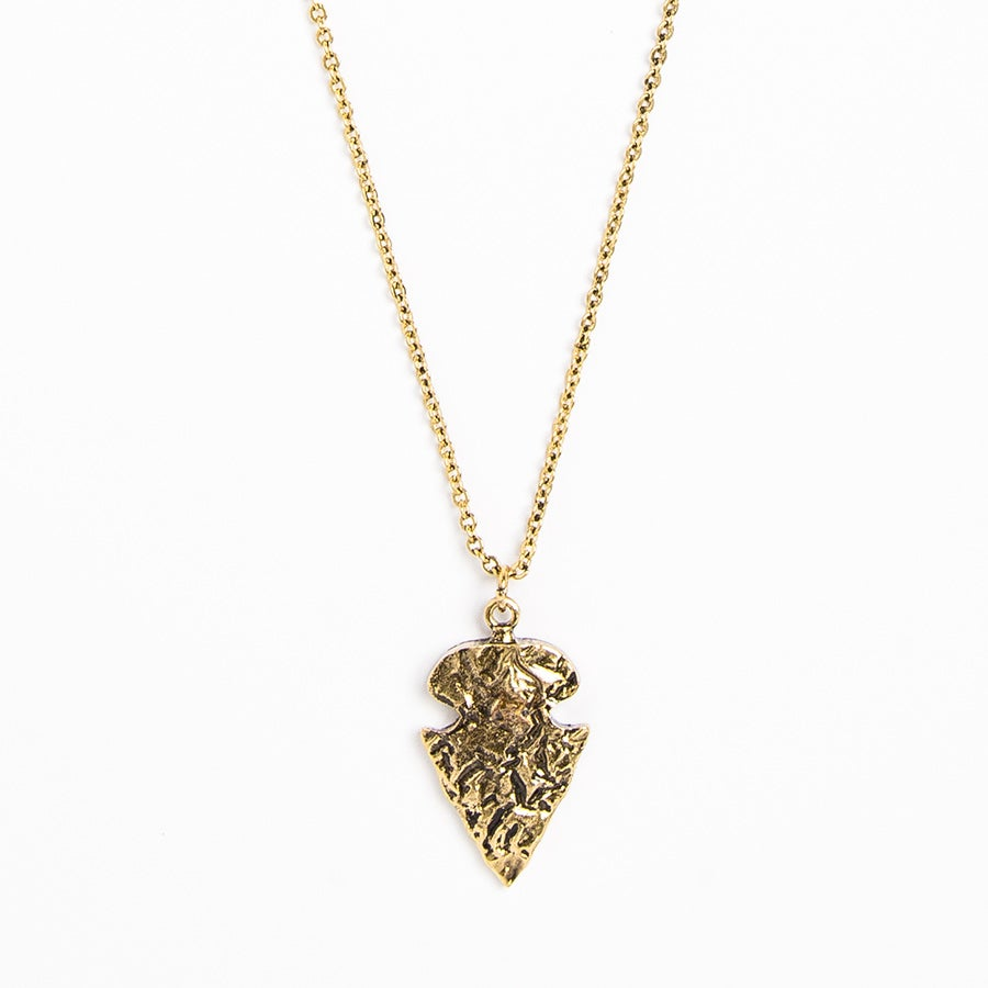 Image of Antique Arrowhead Necklace