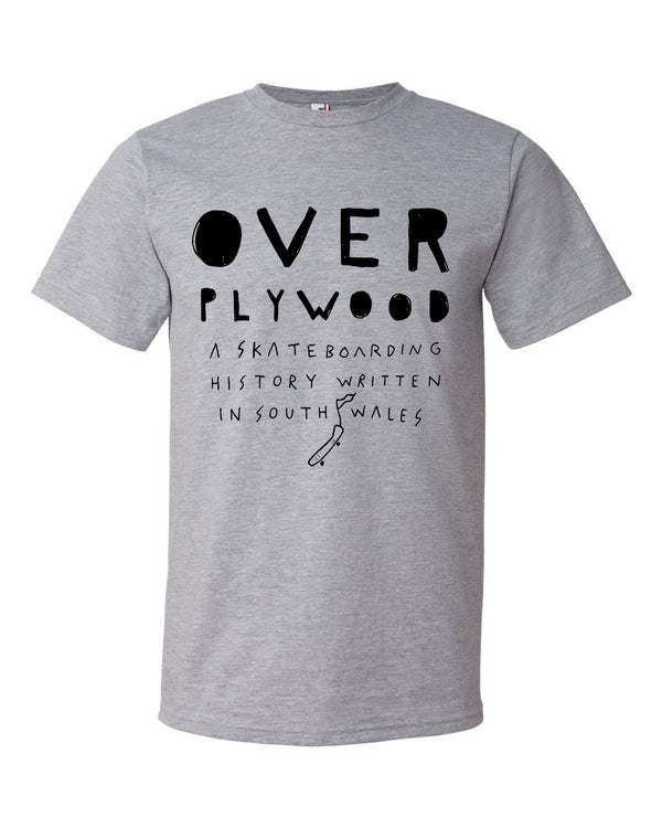 Image of Over Ply Wood/Furr/Exist collaboration Film logo t-shirt