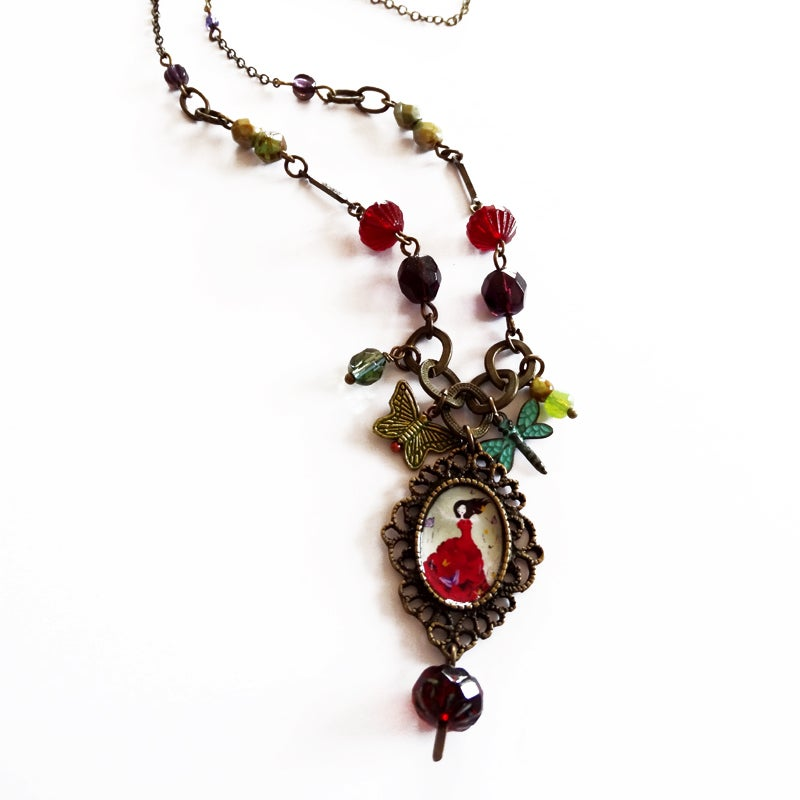 Image of Mariposa necklace