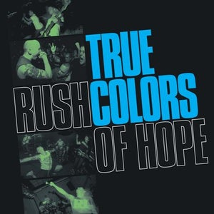 Image of TRUE COLORS 'rush of hope' LP BLUE VINYL