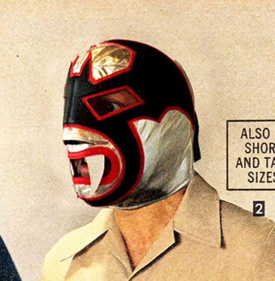 Image of Vampiro Blanco Mask