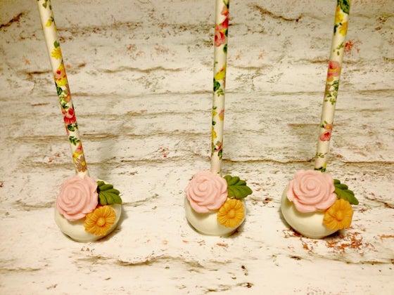 Image of Cake pop floral