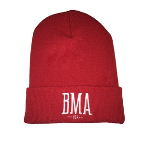 Image of BMA - Red Spring Beanies
