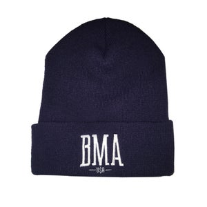 Image of BMA - Navy Spring Beanies