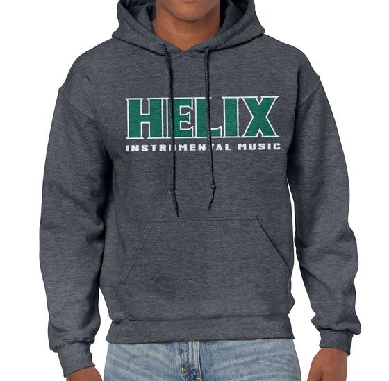 Image of Helix Instrumental Gray Hoodie