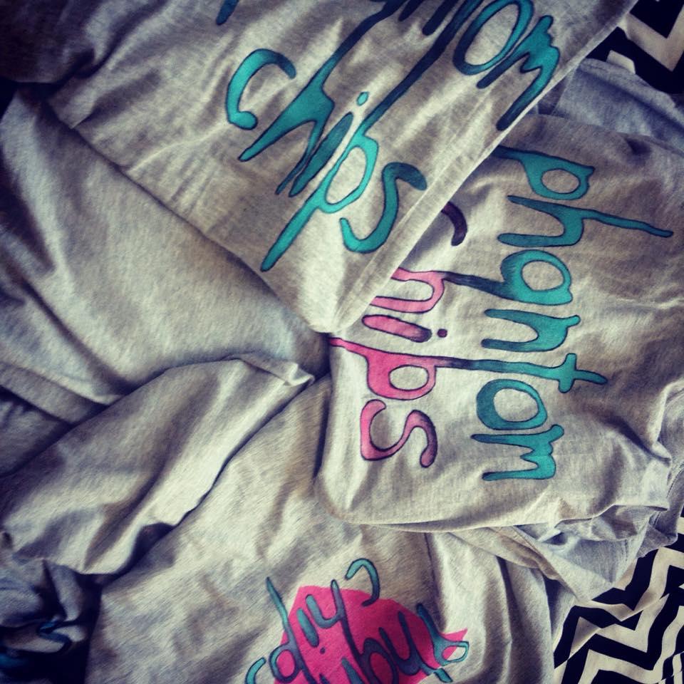 Image of Phantom Chips T-shirts