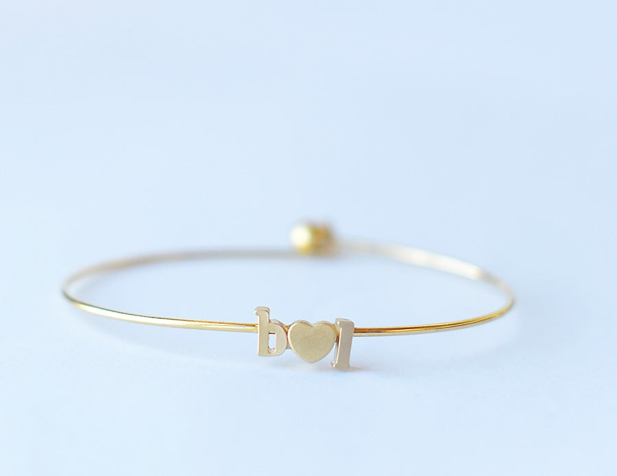 Image of Love Letter Bangle
