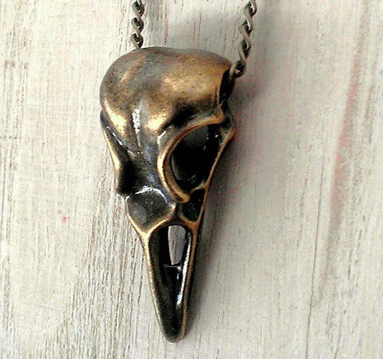 Image of Artifact Skull Necklace