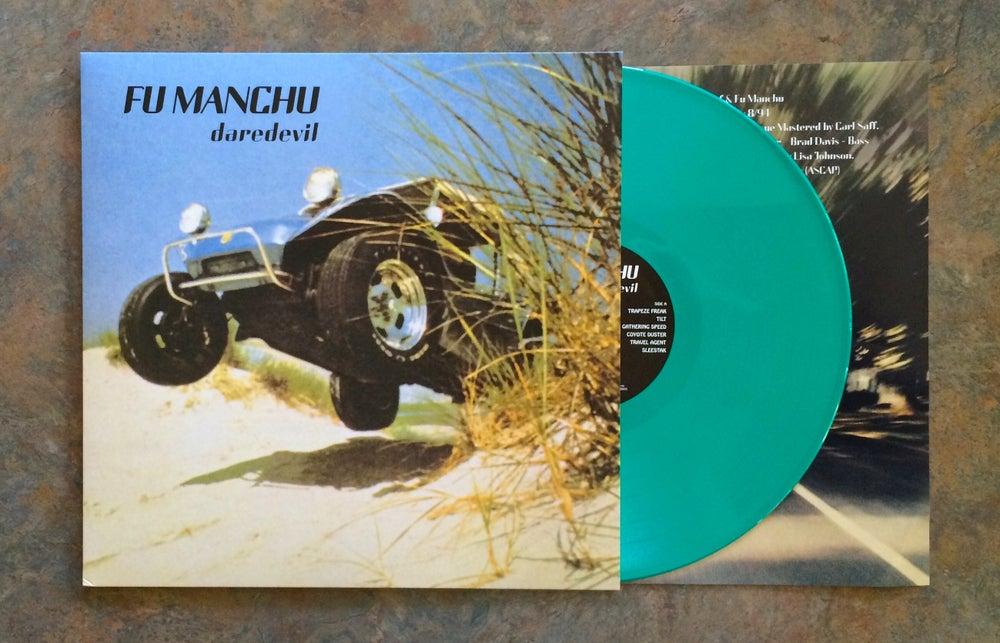 "Image of Fu Manchu 2015 ""daredevil"" remaster reissue LP"