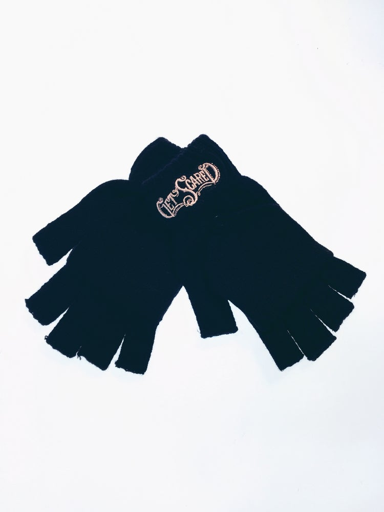 Image of Get Scared Cut Off Gloves
