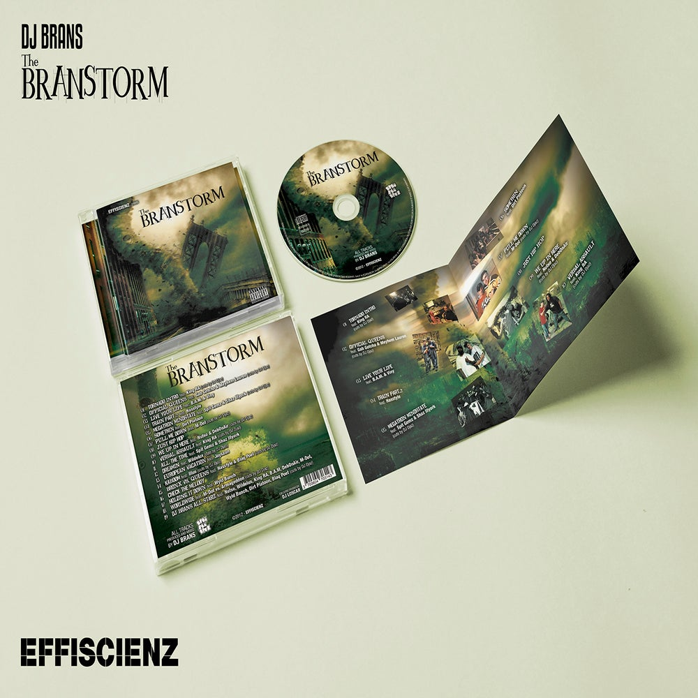 "Image of DJ BRANS ""THE BRANSTORM"" / CD"