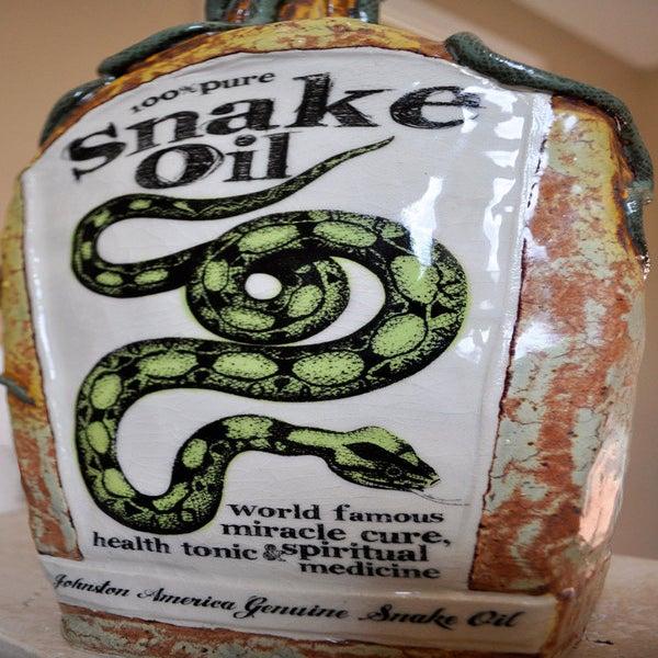 Image of Snake Oil Jug