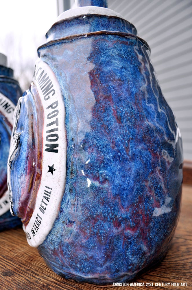 Image of Howling Wolf Jug