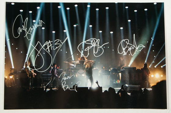 Image of My Morning Jacket Autographed Photo