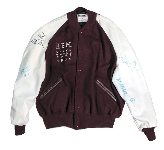 Image of R.E.M. Green World Tour Jacket