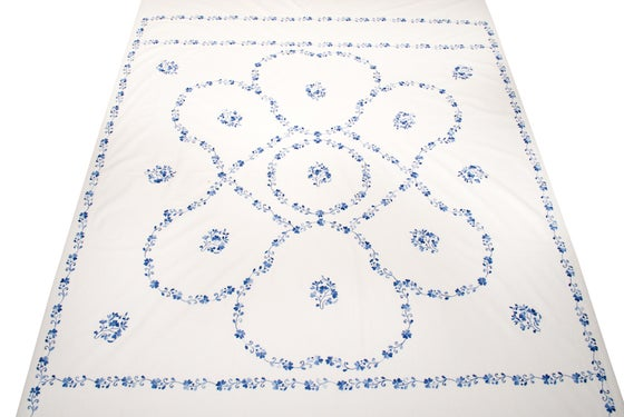 Image of Indian Floral Bedding Set