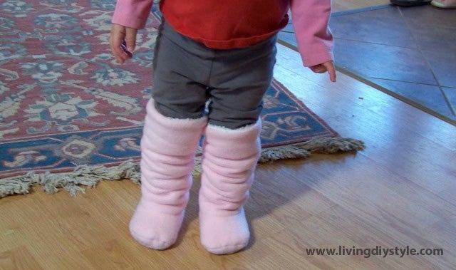 Image of Super Slouchy Baby Boots
