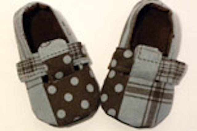 Image of Little London Loafer Baby Shoe Sewing Pattern