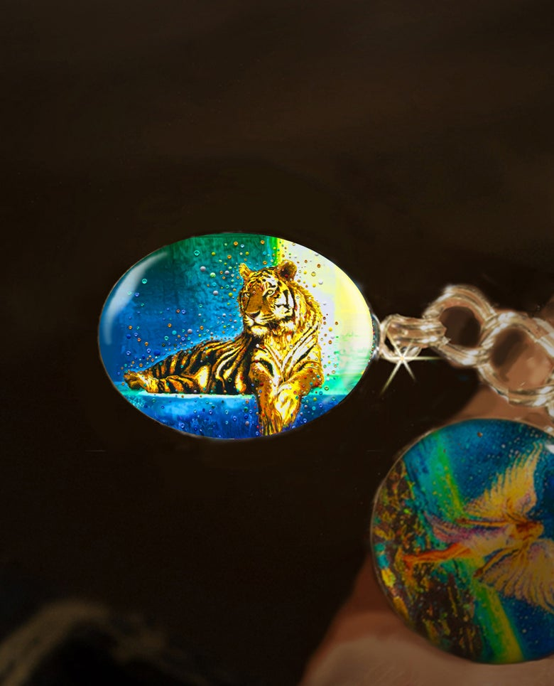 Image of Temple Tiger – Your Personal Spiritual Guardian & Protector - Positive Energy Charm