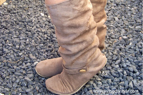 Image of Women's Slouchy Boot Sewing Pattern
