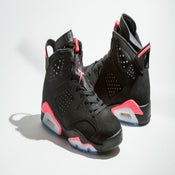 "Image of NIKE AIR JORDAN 6 ""BLACK INFRARED"""