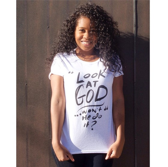 Image of 'Look At God' - Short Sleeve Tee