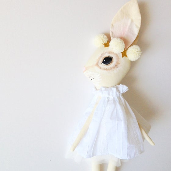 Image of Fleur the enchanting bunny- PREORDER