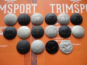 Image of Trimsport Mk1 Mk2 Mk3 Mk4 Domed Gearknob Badge