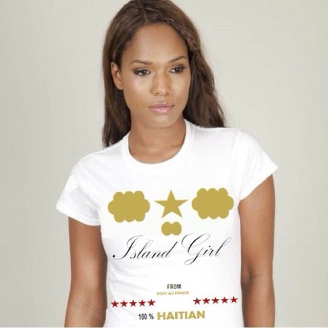 Image of ISLAND GIRL 100% HAITIAN T-SHIRT