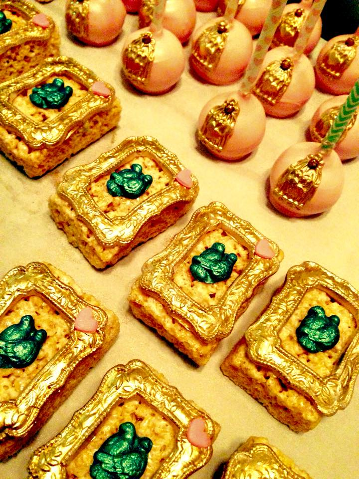 Image of birdcage cake pops