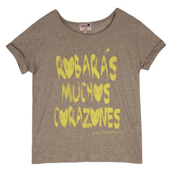 """Image of Camiseta """"Robarás muchos corazones"""""""