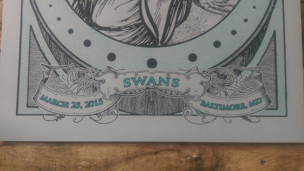 Image of Swans - March 25, 2015 / Baltimore, MD