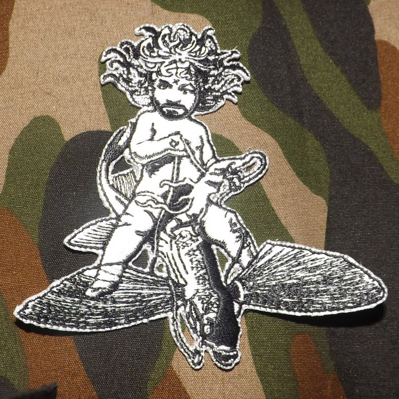Image of MANSONFISH embroidered patch