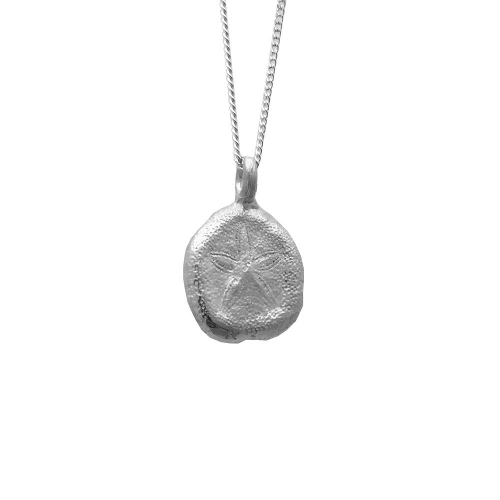 Image of Sand Dollar Necklace Organic