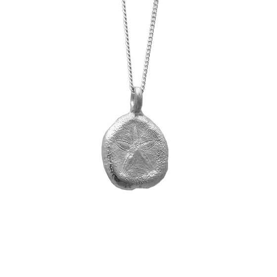 Image of Sand Dollar Necklace Organic