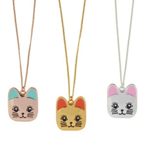 Image of Catface Necklace