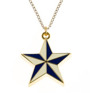 Image of Nautical Star Necklace