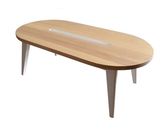 "Image of Table basse ""L'EQUILIBRE RETROUVE"""