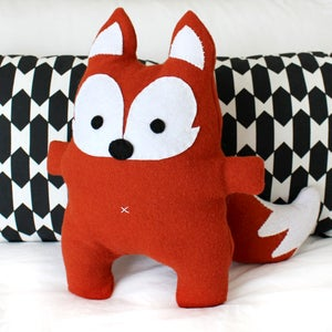 Image of Mr Fox  - Softie Sewing Pattern