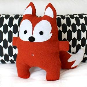 Image of Mr Fox Plushie - PDF Sewing Pattern