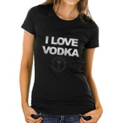 Image of I LOVE VODKA SHIRT (WOMENS)