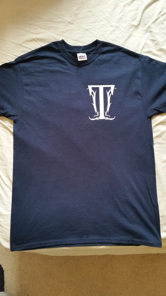 Image of Emblem Tee - Navy