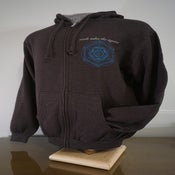 "Image of Zip Up Hoodie ""Quantum Scaffolding"""