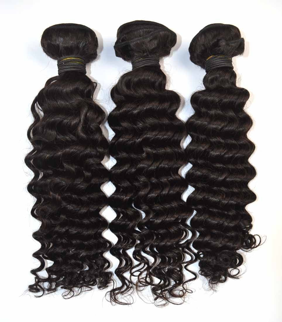 Unique Creations By Natalie Deep Curly Virgin Hair Bundles