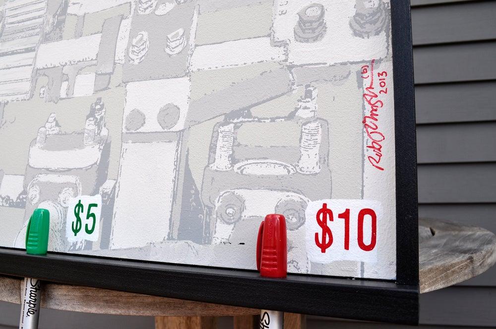 Image of Money Making Art Machine