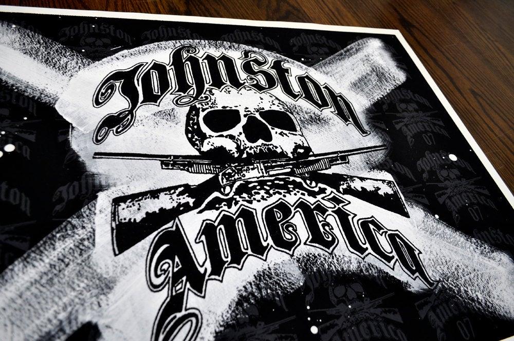 Image of Johnston America Skull & Shotguns