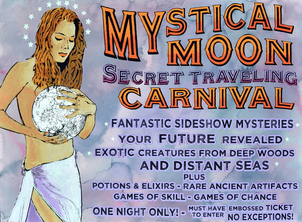 Image of Mystical Moon Secret Traveling Carnival