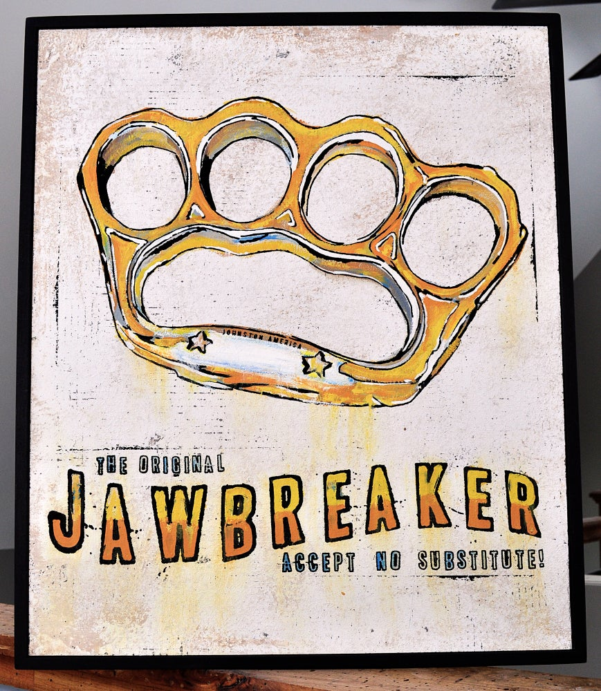 Image of Brass Knuckles / Jawbreaker Art